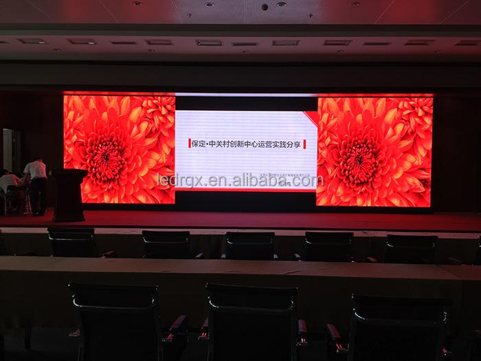 shenzhen rgx couleur p4 led mur vid o led panneau led signe pour la publicit prix ecran d. Black Bedroom Furniture Sets. Home Design Ideas