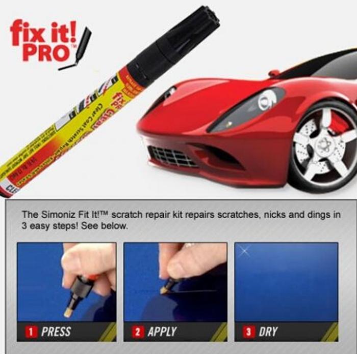 Его профессиональная ясно ремонта скреста автомобиля ручка Simoniz прозрачное покрытие аппликатор