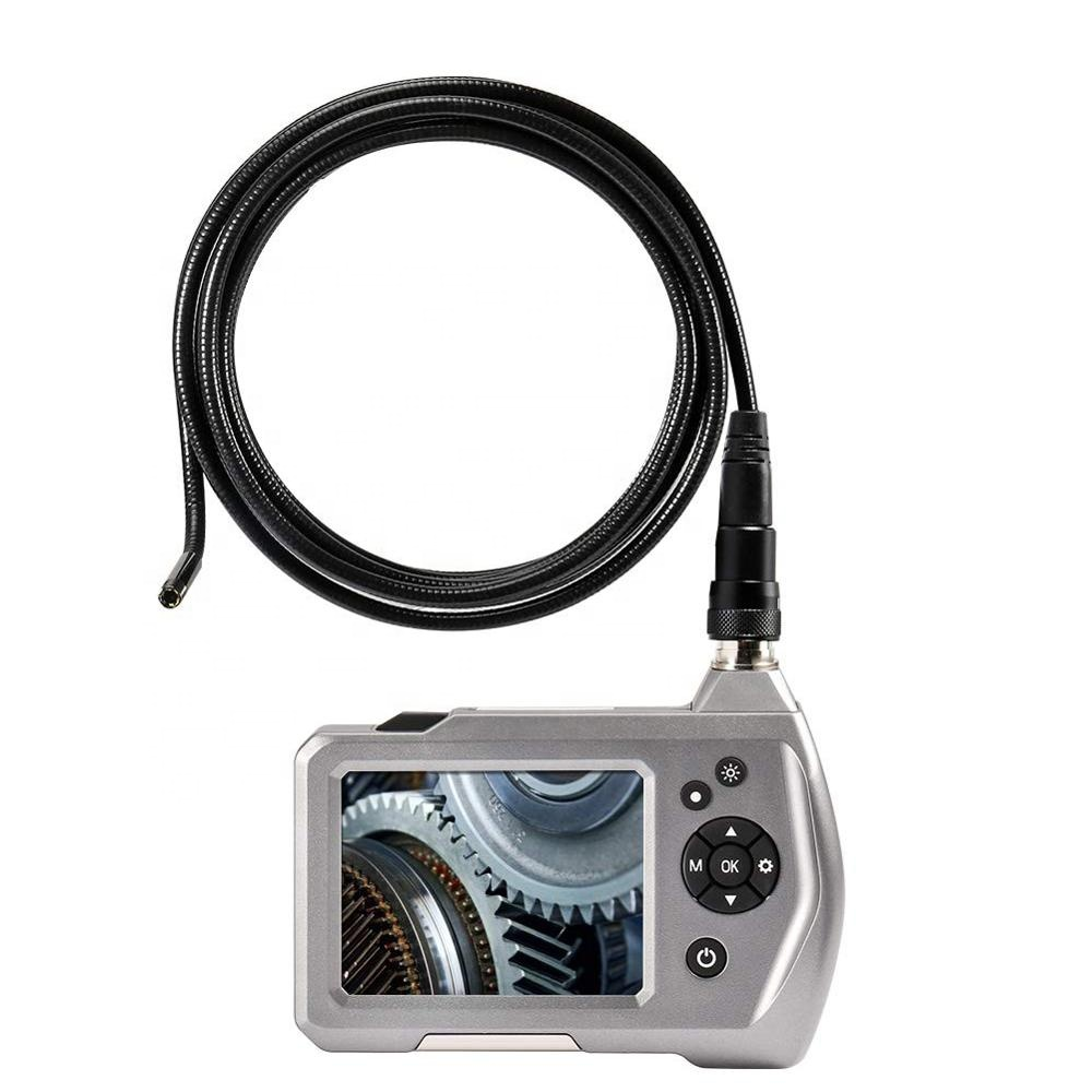 3.5 inch LCD Screen HD Flexible Industrial Digital Endoscope Borescope Inspection <strong>Camera</strong> with 5.5mm Waterproof Snake <strong>Camera</strong>