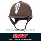 Low profile competition helmet equestrian wholesale WLT-801B/1# coffee /VG-1 approved