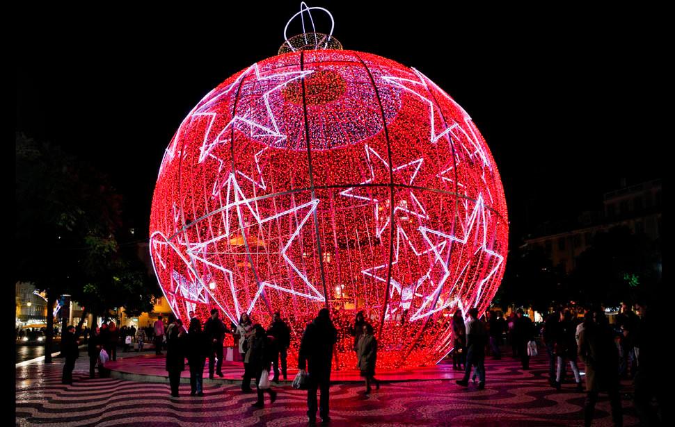 6m large led christmas balls for christmas decoration for Big christmas decorations outdoor