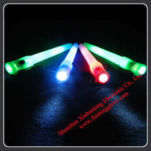 Rock n Roll Party Supplies LED Light Whistle Glow Stick Whistles