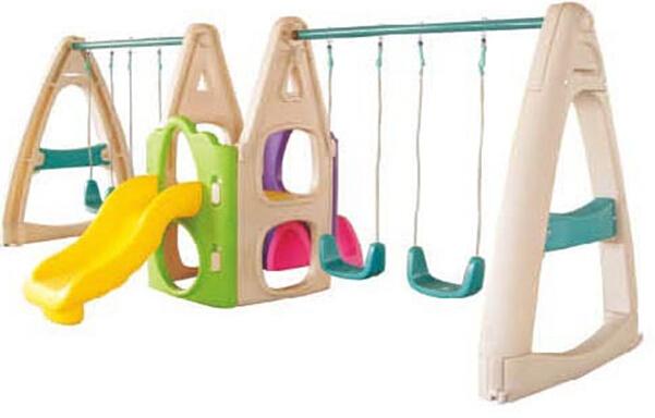 Plastic Outdoor Backyard Children Swing Playsets - Buy ...