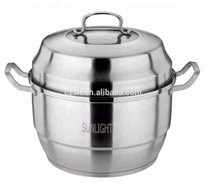 Multifunctional Stainless Steel Steamer Cooker Pot Cooking Steamer