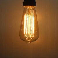 ST58 13Anka 120V 40W Warm White Light Retro Edison LED Light Bulb E27
