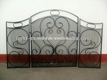 Wrought Iron Fireplace Screen Buy Decorative Wrought Iron Screen Decorative Fireplace Tools Metal Fireplace Screen Product On Alibaba Com