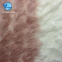 Long Pile Hair Animal Faux Fur Plush Fleece Fabric for Summer Dress Long Pile Hair Animal Faux Fur Plush Fleece Fabric