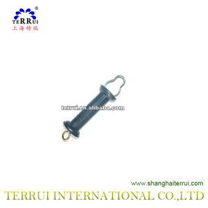 Insulated Plastic Gate Handle Anchor For High Voltage Energizers In Electric Fence