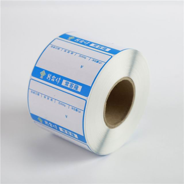 Most popular customized self adhesive fabric sticker labels