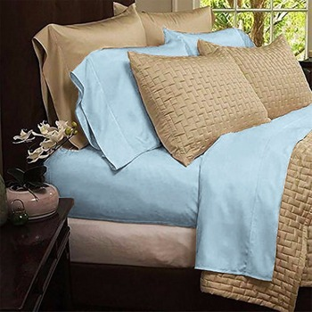 Superior Eco Friendly Hypoallergenic And Wrinkle Resistant Home Luxury Bamboo Bed  Sheets