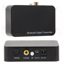 Wireless Bluetooth Digital Transmitter Optical Coaxial 3.5mm audio Transmission Sound for Television DVD Smart Phones Computers