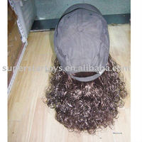 Party fashion wig hat Yiwu factory Outlet Gangsta Girl Hair with Hat
