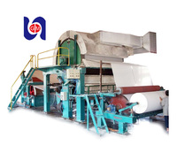 2016 hot selling professional manufacture 1575mm toilet tissue paper production line