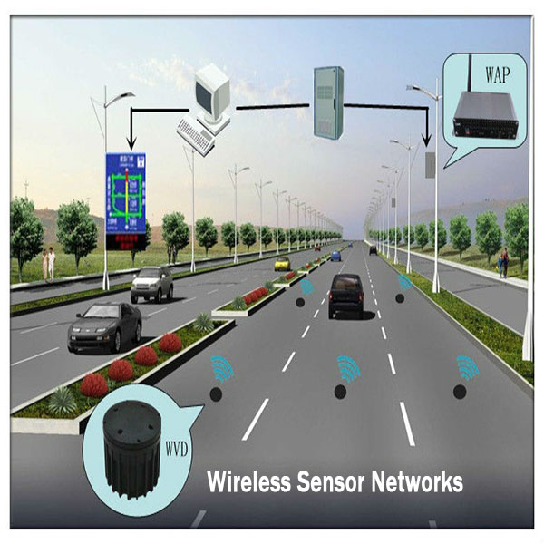 Zigbee Wireless Magnetic Vehicle Sensor And Control Networks For ...
