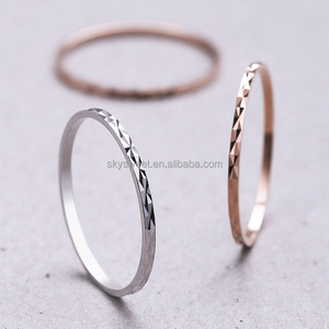 S925 Sterling Silver Ring, Smart Ring, Wedding Ring
