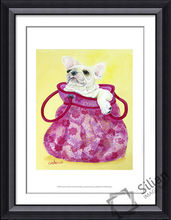 Lovely puppy picture frame