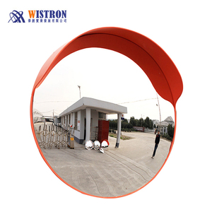 Safety wide angle road security outdoor small PC convex mirrors