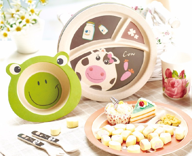 German Children Tableware Kids 5 Piece Toddler Dinnerware Set Buy