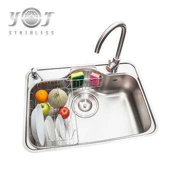 Edelstahl Kommerziellen Lebensmittel Vorbereitung Waschbecken Mit