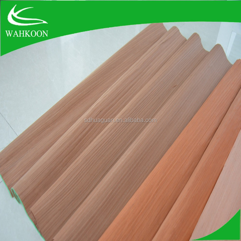 Best price high quality 0.3mm engineer face veneer of gurjan wood sheets for India market