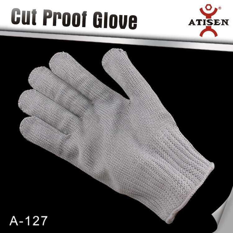 Cut resistant gloves food grade level 5 protection safety kitchen cuts gloves for oyster shucking and fish fillet processing
