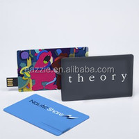 Custom Printing USB Drives Credit Card USB Pen Drives