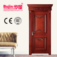 China factory and beautiful Italy design wood effect security door export to European