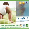 Super absorbent fabric soft nonwoven material for making diaper