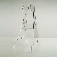 Acrylic glass guitar Gift Detachable Clear Acrylic Folding Electric Guitar Stand