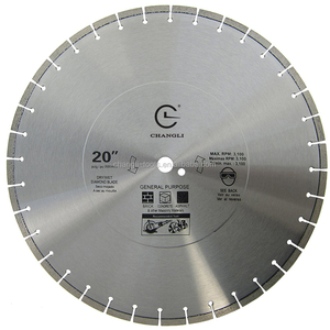 "Diamond Concrete Saw Blade with 1"" 2 inch Arbor(12"" 14"" 16"" 18"" 20 inch)"