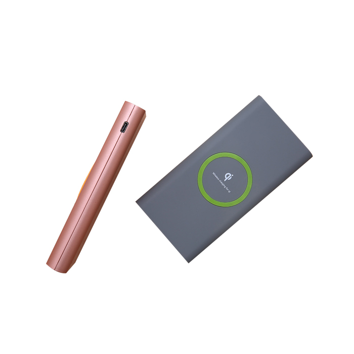 Universal 10000mAh Qi Wireless Charger pad Power Bank For Mobile Phone Charger Battery