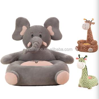 Baby Chair Elephant Feeding Chair Children Seat Sofa Plush For Kids  Sleeping Bed Baby Nest Puff