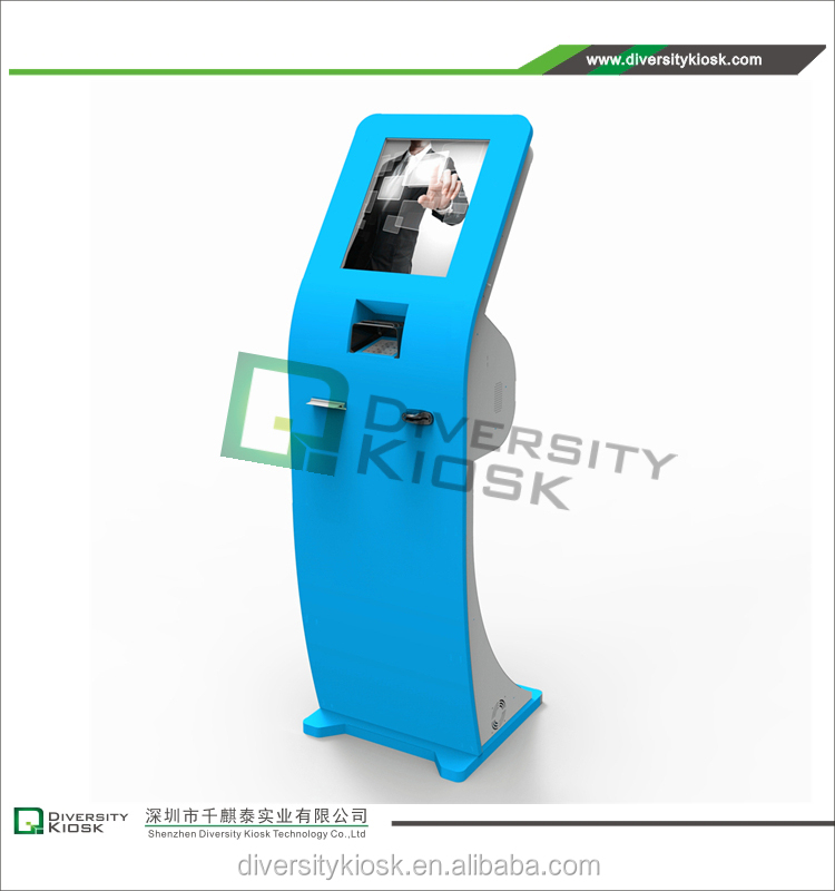 self service kiosk enclosure high quality keyboard kiosk