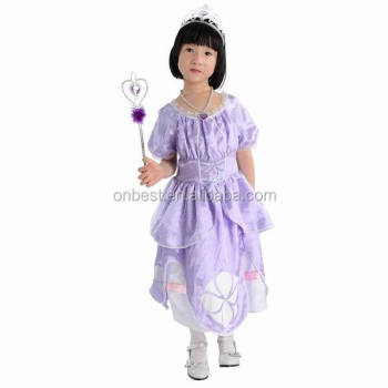 wholesale carnival costumes for girls/child costumes princess/ sofia costumes  sc 1 st  Wholesale Alibaba : princess sofia costume for adults  - Germanpascual.Com