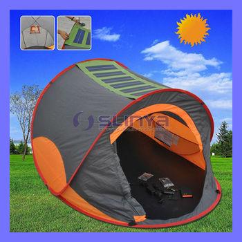 22w Camping Orange Solar Power Tent For Sale Buy Solar