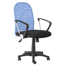 Hot sell cheap small size blue rolling office mesh chair price