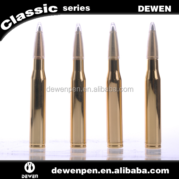 New Design Bullet Pen ,Mini Novelty Metal Pen golden plated