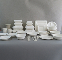 Eco-friendly Biodegradable Disposable Bagasse Dinnerware Set