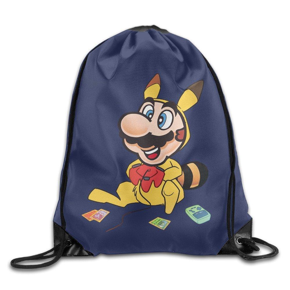 6d74da89d4b3 Buy Hotgirl Super Poke Mario Bros Backpack Gymsack Gym Sack White in ...