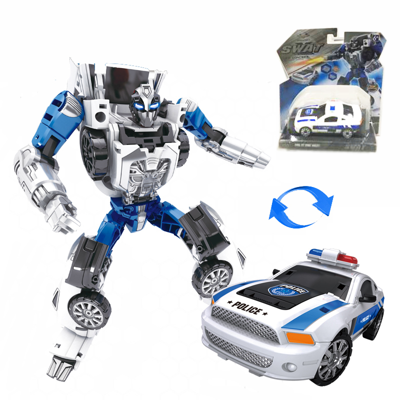 2 in 1 play Toy wholesale drop shipping Alloy assembly toy robot