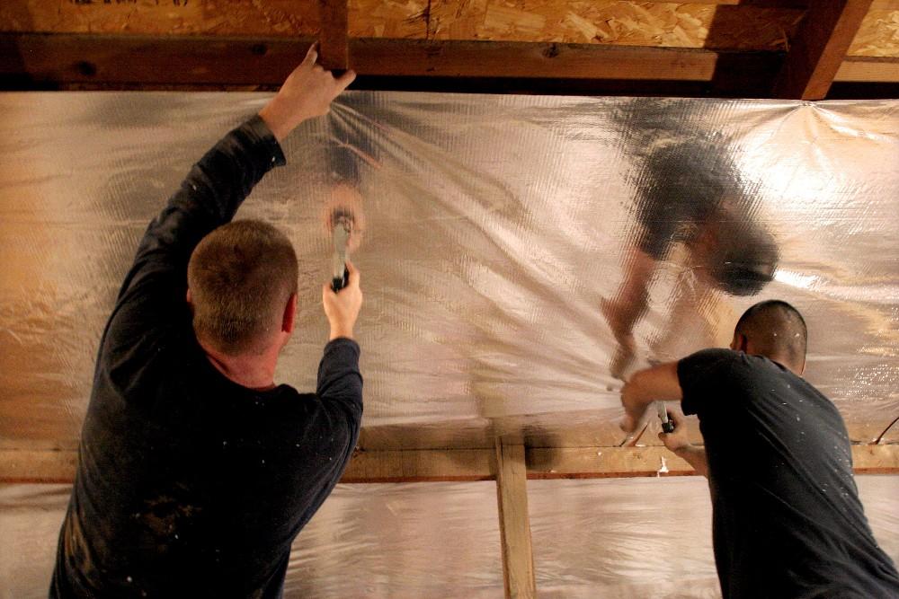 Aluminum Foil Backed Fiberglass Insulation Buy Foil