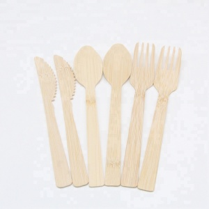 hot sale disposable bamboo cutlery