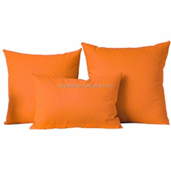 Promotional Decorative Throw Pillow Cases Solid Color Pillow Cases