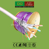 Iran Hot Selling 305m 1000ft FR PVC Sheath 4 Pairs Solid Pure Copper Cat 7 SFTP Net Connect Cable