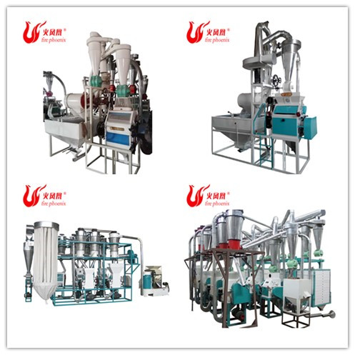 Wholesale Price 5 Ton Per Day Maize Wheat Soya Coconut Flour Milling Machine