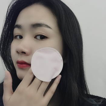 Multi-layer Round Face Makeup Remover Natural Facial Puff Round Bamboo Cotton Pads