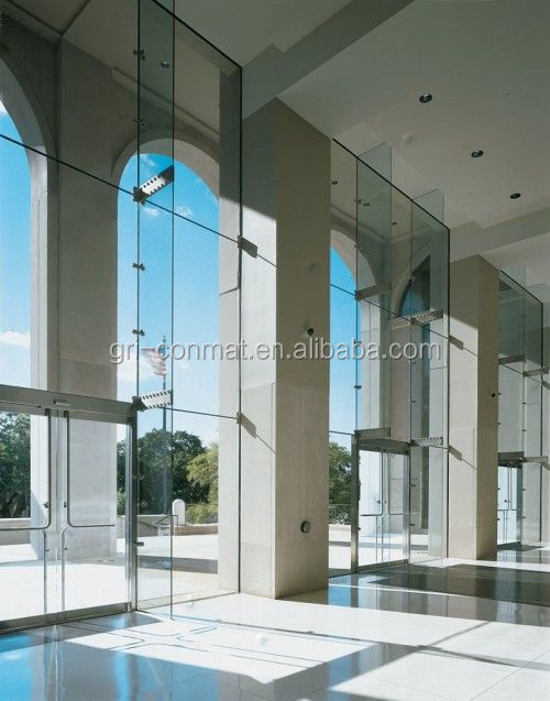 Curtain wall energy-saving and safety insulated glass