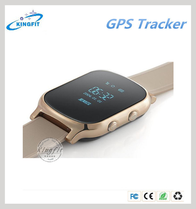 Kids GPS Tracker Watch SOS Emergency Alarm GSM GPS Watch