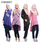 Muslim Blouses Adult Women Shirts Long Time-limited Islamic Tops For New Arrival None America Body Dress Shirt Loose Style E031
