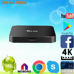 Freesat GTT DVB-S2/T2/Cable/ISDBT android 6.0 tv box 1G 8G S905D